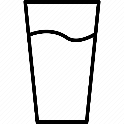 cola, drink, glass, soda, water icon