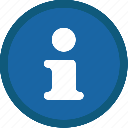 about, blue, circle, help, info, information, support icon