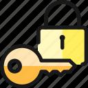 key, lock