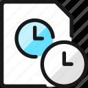 time, clock, file, timer