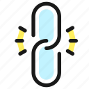 broken, link