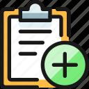 task, checklist, add