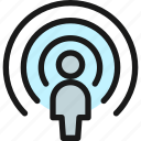 user, signal