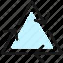 synchronize, arrows, triangle