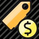 tags, cash