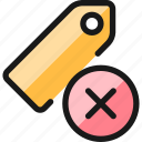 tags, remove