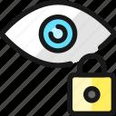 iris, scan, lock