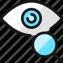 iris, scan, search