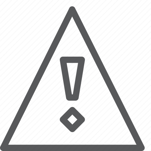 alert, attention, help, interface, notification, problem, triangle, warning icon