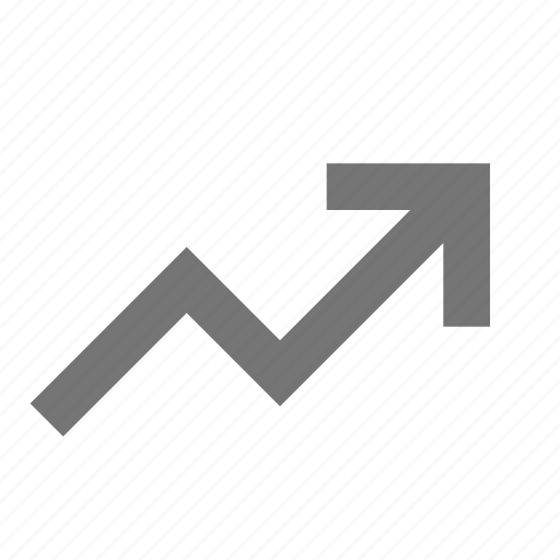 arrow, increase, increasing icon