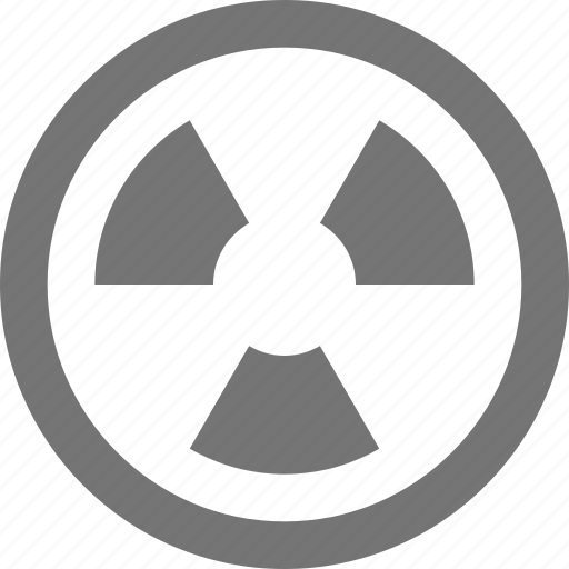 Radioactive, circle, danger, feedback, hazard, interface, nuclear icon - Download on Iconfinder