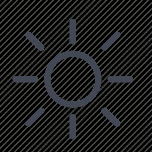 brightness, clear, lamp, light, shine, sun, sunny icon