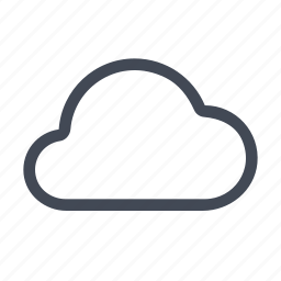 cloud, cloudy, internet, online, server, storage, weather icon