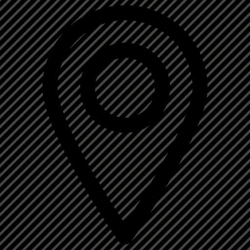 gps, interface, location, mark, site, web icon