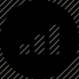 chart, circle, stats icon