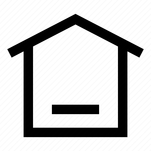 home, house, menu, mobile, option icon