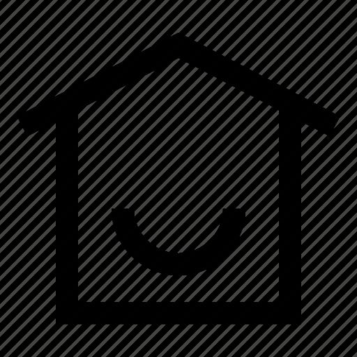 home, house, menu, mobile, option icon