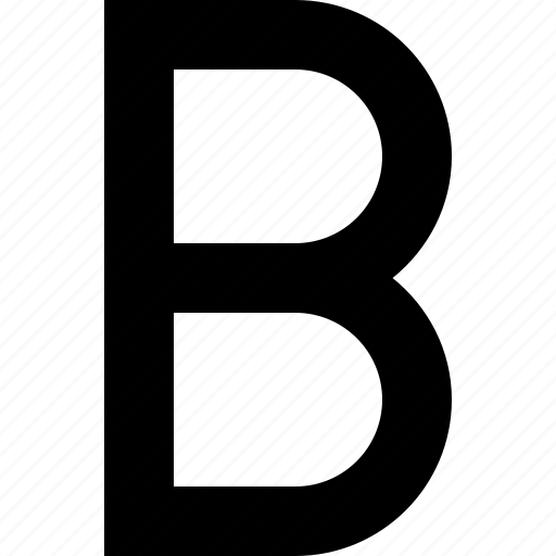 bold, font, strong, style, type icon