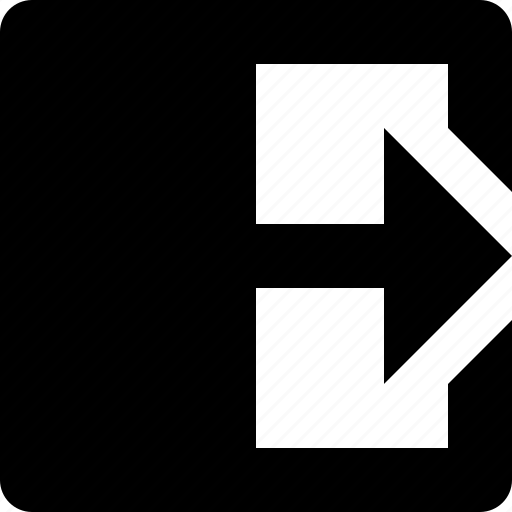 arrow, fold, paper, right, turn icon