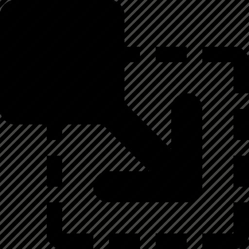 diagonal, increase, move, scalability, scalable, shift icon