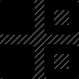 square, squares, thumbnail, thumbnails icon