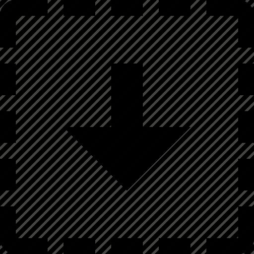 download, square icon