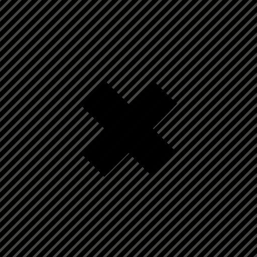 close, ex, tiny icon