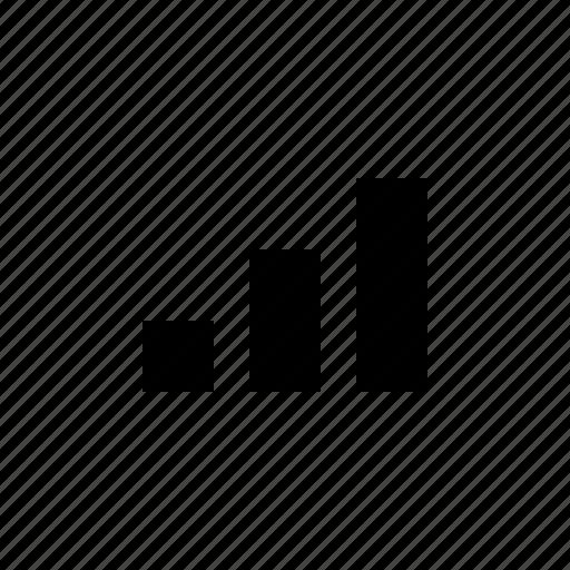 bar chart, statistics, stats, tiny icon