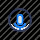 interface, loudspeaker, mic, sound, ui, ux