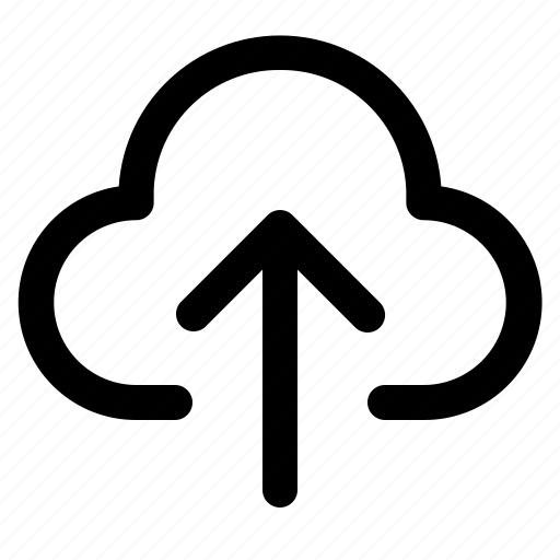 arrow, cloud, down, up, upload icon