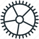 detatils, gear, interface, settings icon
