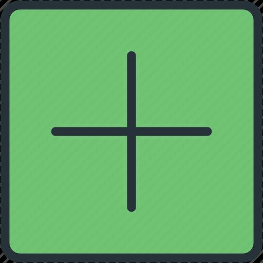 interface, plus icon