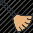 broom, clean, interface