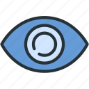 details, eye, interface, view icon