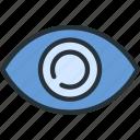 interface, eye, details, view icon