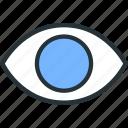 interface, show, eye, view