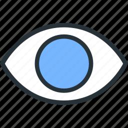 eye, interface, show, view icon