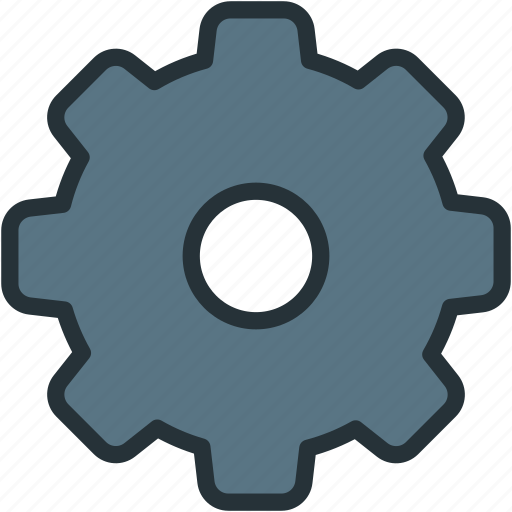 gear, interface, settings icon