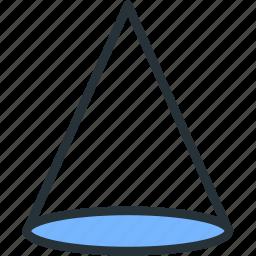 figure, interface, prism, shape icon