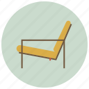 chair, furniture, house, interior, living, room, sofa icon