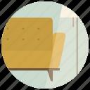 chair, couch, interior, interior design, lamp, room, sofa icon