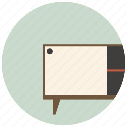 apartment, cupboard, furniture, home, interior, room, table icon