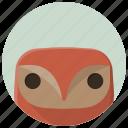 bird, design element, figure, interior, interior design, owl, statue icon