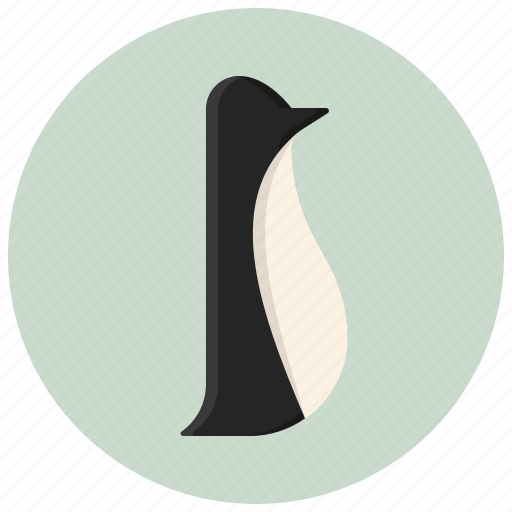 animal, bird, figure, interior, interior design, penguin, statuette icon