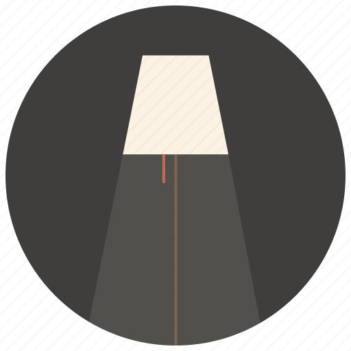 electric, floor lamp, idea, interior, lamp, lampshade, light icon