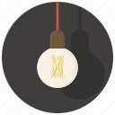 bulb, electricity, idea, interior, lamp, light, lightning icon