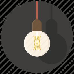 bulb, electricity, idea, interior, lamp, light, lightning icon