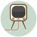 electronic, furniture, home, interior, retro, television, tv icon