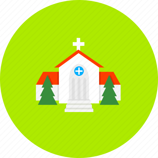 architecture, building, christian, church, clergy, faith, religion icon