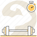 club, design, fitness, interior, room icon